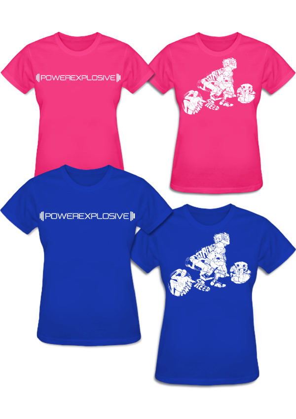 Camiseta Chica PowerExplosive (Modelo 2016)