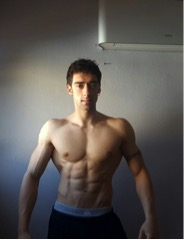 men's physique suplementación