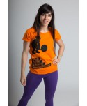 Camiseta Mujer PowerExplosive ORANGE