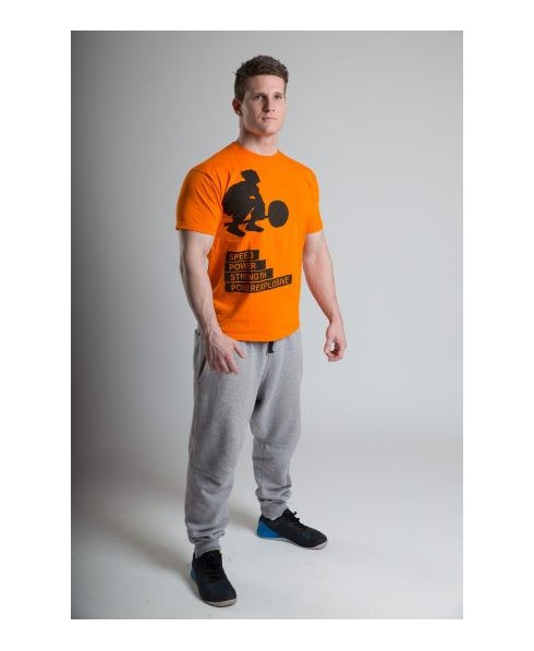 Camiseta Hombre PowerExplosive ORANGE