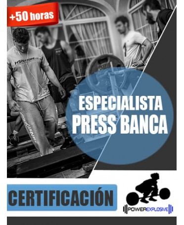 CURSO ESPECIALISTA EN PRESS BANCA [CERTIFICACIÓN POWEREXPLOSIVE]