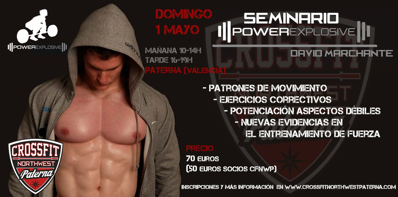 powerexplosive evento paterna