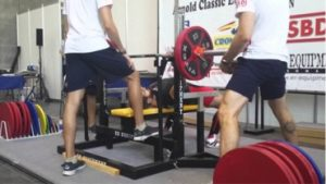 competición powerlifting