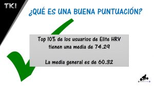 hrv puntuacion