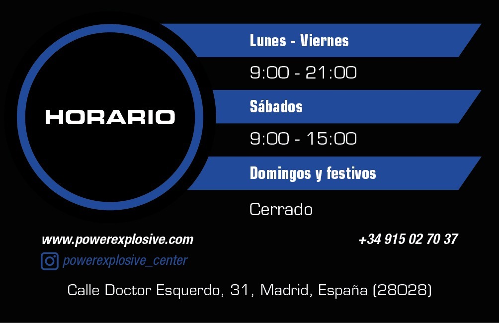 powerexplosive horario center